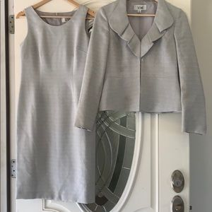Le Suit - silver dress and jacket size 4